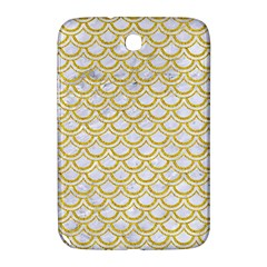 Scales2 White Marble & Yellow Denim (r) Samsung Galaxy Note 8 0 N5100 Hardshell Case  by trendistuff