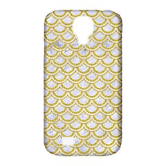 SCALES2 WHITE MARBLE & YELLOW DENIM (R) Samsung Galaxy S4 Classic Hardshell Case (PC+Silicone)