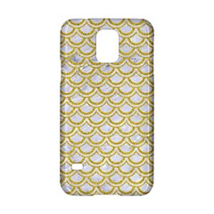 SCALES2 WHITE MARBLE & YELLOW DENIM (R) Samsung Galaxy S5 Hardshell Case