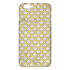 SCALES2 WHITE MARBLE & YELLOW DENIM (R) iPhone 6 Plus/6S Plus TPU Case