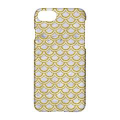 SCALES2 WHITE MARBLE & YELLOW DENIM (R) Apple iPhone 7 Hardshell Case