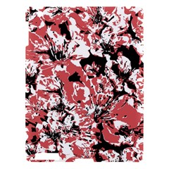 Textured Floral Collage Apple Ipad 3/4 Hardshell Case by dflcprints