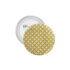 Circles3 White Marble & Yellow Denim (r) 1 75  Buttons by trendistuff
