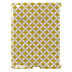 Circles3 White Marble & Yellow Denim Apple Ipad 3/4 Hardshell Case (compatible With Smart Cover) by trendistuff