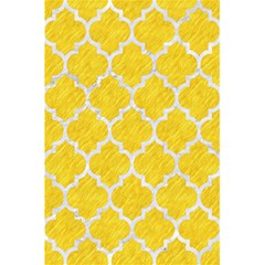 Tile1 White Marble & Yellow Colored Pencil 5 5  X 8 5  Notebooks by trendistuff