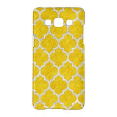 Tile1 White Marble & Yellow Colored Pencil Samsung Galaxy A5 Hardshell Case  by trendistuff