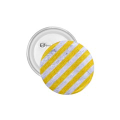 Stripes3 White Marble & Yellow Colored Pencil (r) 1 75  Buttons by trendistuff