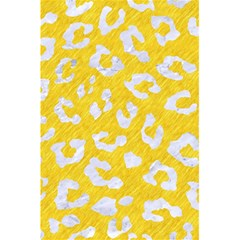 Skin5 White Marble & Yellow Colored Pencil (r) 5 5  X 8 5  Notebooks by trendistuff