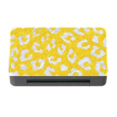 Skin5 White Marble & Yellow Colored Pencil (r) Memory Card Reader With Cf by trendistuff