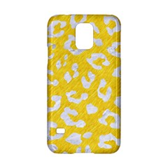 Skin5 White Marble & Yellow Colored Pencil (r) Samsung Galaxy S5 Hardshell Case  by trendistuff