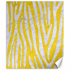 Skin4 White Marble & Yellow Colored Pencil (r) Canvas 20  X 24   by trendistuff