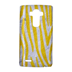 Skin4 White Marble & Yellow Colored Pencil Lg G4 Hardshell Case by trendistuff