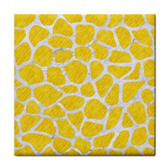 Skin1 White Marble & Yellow Colored Pencil (r) Face Towel by trendistuff