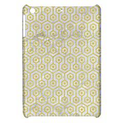 Hexagon1 White Marble & Yellow Colored Pencil (r) Apple Ipad Mini Hardshell Case by trendistuff