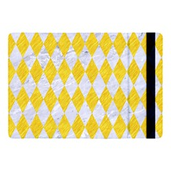 Diamond1 White Marble & Yellow Colored Pencil Apple Ipad Pro 10 5   Flip Case by trendistuff