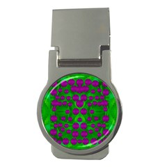 The Pixies Dance On Green In Peace Money Clips (round)  by pepitasart