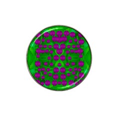 The Pixies Dance On Green In Peace Hat Clip Ball Marker (4 Pack) by pepitasart