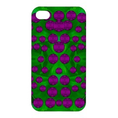 The Pixies Dance On Green In Peace Apple Iphone 4/4s Hardshell Case by pepitasart