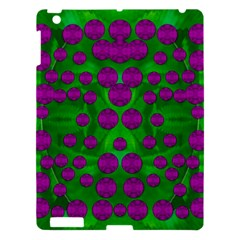 The Pixies Dance On Green In Peace Apple Ipad 3/4 Hardshell Case by pepitasart