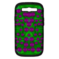 The Pixies Dance On Green In Peace Samsung Galaxy S Iii Hardshell Case (pc+silicone) by pepitasart