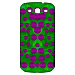 The Pixies Dance On Green In Peace Samsung Galaxy S3 S Iii Classic Hardshell Back Case by pepitasart