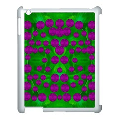 The Pixies Dance On Green In Peace Apple Ipad 3/4 Case (white) by pepitasart