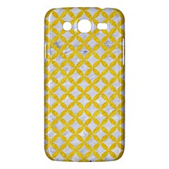 Circles3 White Marble & Yellow Colored Pencil (r) Samsung Galaxy Mega 5 8 I9152 Hardshell Case  by trendistuff