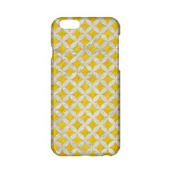 Circles3 White Marble & Yellow Colored Pencil Apple Iphone 6/6s Hardshell Case by trendistuff