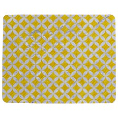 Circles3 White Marble & Yellow Colored Pencil Jigsaw Puzzle Photo Stand (rectangular) by trendistuff