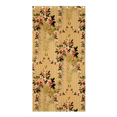 Vintage Floral Pattern Shower Curtain 36  X 72  (stall)  by paulaoliveiradesign