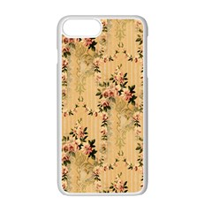 Vintage Floral Pattern Apple Iphone 7 Plus Seamless Case (white)