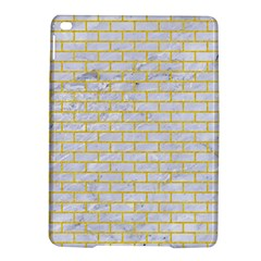 Brick1 White Marble & Yellow Colored Pencil (r) Ipad Air 2 Hardshell Cases by trendistuff