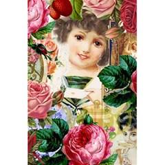 Little Girl Victorian Collage 5 5  X 8 5  Notebooks by snowwhitegirl