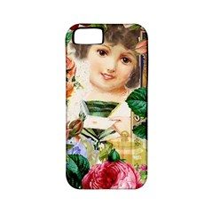 Little Girl Victorian Collage Apple Iphone 5 Classic Hardshell Case (pc+silicone) by snowwhitegirl