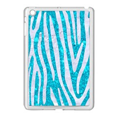 Skin4 White Marble & Turquoise Marble (r) Apple Ipad Mini Case (white) by trendistuff