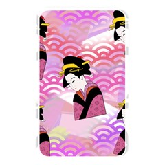 Japanese Abstract Pink Memory Card Reader by snowwhitegirl