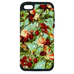 Fruit Blossom Apple Iphone 5 Hardshell Case (pc+silicone) by snowwhitegirl