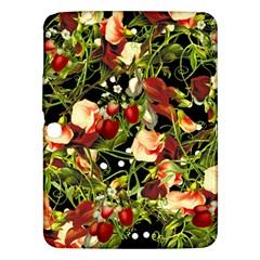 Fruit Blossom Black Samsung Galaxy Tab 3 (10 1 ) P5200 Hardshell Case  by snowwhitegirl