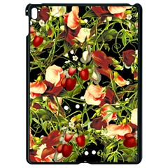 Fruit Blossom Black Apple Ipad Pro 9 7   Black Seamless Case by snowwhitegirl