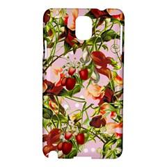 Fruit Blossom Pink Samsung Galaxy Note 3 N9005 Hardshell Case by snowwhitegirl
