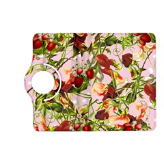 Fruit Blossom Pink Kindle Fire Hd (2013) Flip 360 Case by snowwhitegirl