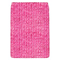 Knitted Wool Bright Pink Flap Covers (s)  by snowwhitegirl