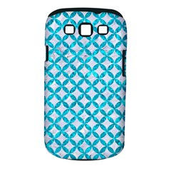 Circles3 White Marble & Turquoise Marble (r) Samsung Galaxy S Iii Classic Hardshell Case (pc+silicone) by trendistuff