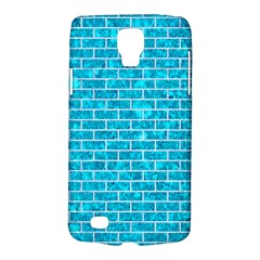 Brick1 White Marble & Turquoise Marble Galaxy S4 Active by trendistuff
