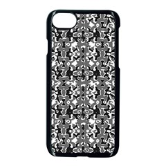 Dark Camo Style Design Apple Iphone 7 Seamless Case (black) by dflcprints