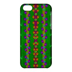 Roses Climbing To The Sun With Grace And Honor Apple Iphone 5c Hardshell Case by pepitasart