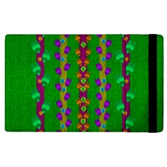 Roses Climbing To The Sun With Grace And Honor Apple Ipad Pro 12 9   Flip Case by pepitasart