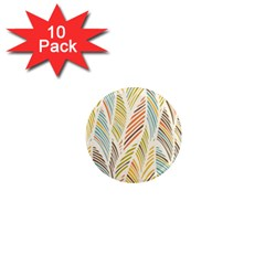 Decorative  Seamless Pattern 1  Mini Magnet (10 Pack)  by TastefulDesigns
