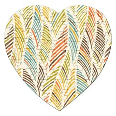Decorative  Seamless Pattern Jigsaw Puzzle (heart) by TastefulDesigns
