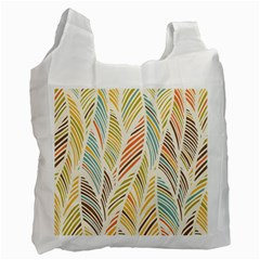 Decorative  Seamless Pattern Recycle Bag (one Side) by TastefulDesigns